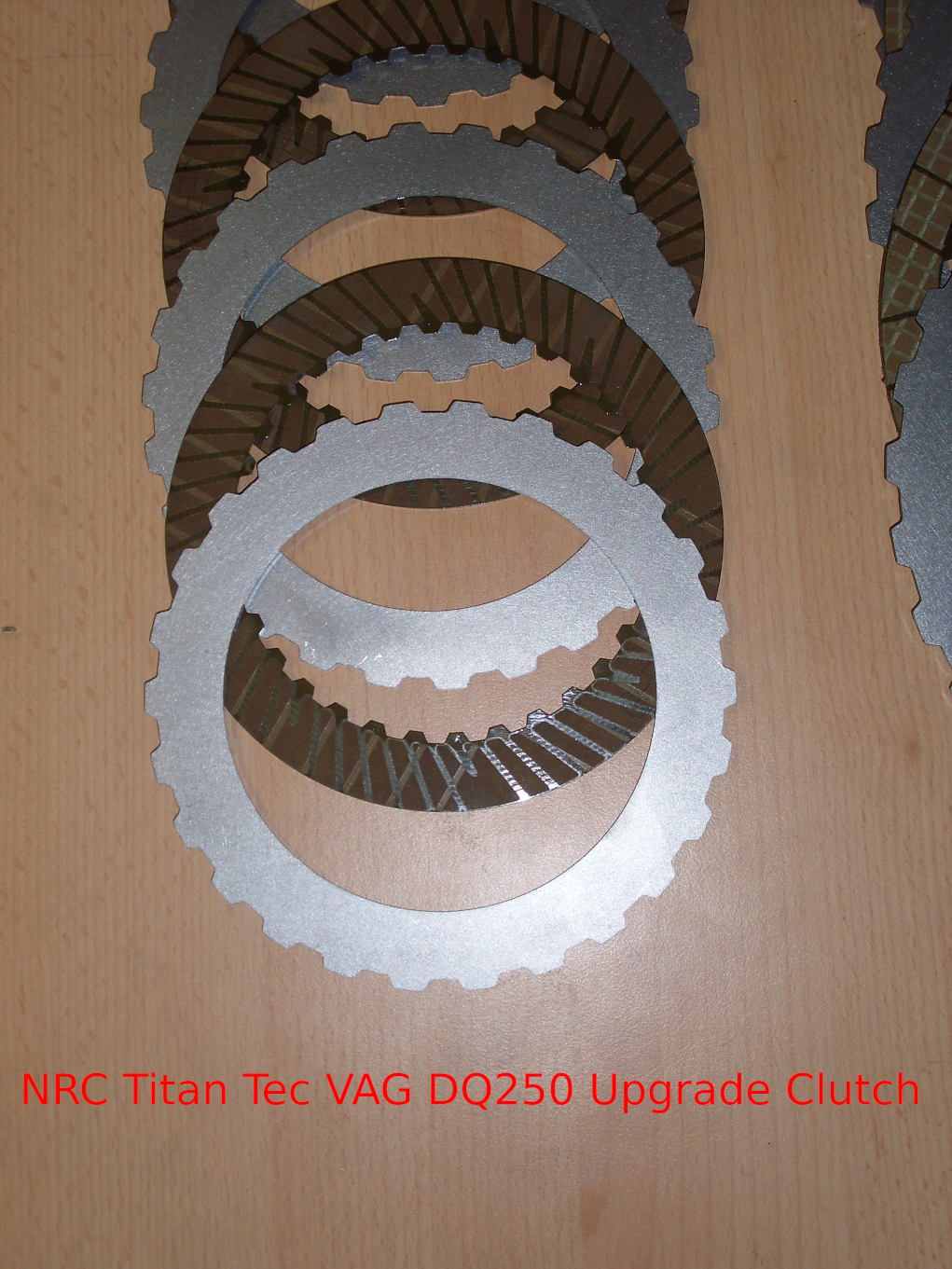 NRC clutch kit discs reinforced DSG VW Jetta IV 162/163 2 0TDI 790NM  Upgrade 02E DQ250